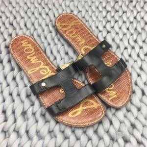 Sam Edelman Women's Black Keen Leather Sandal